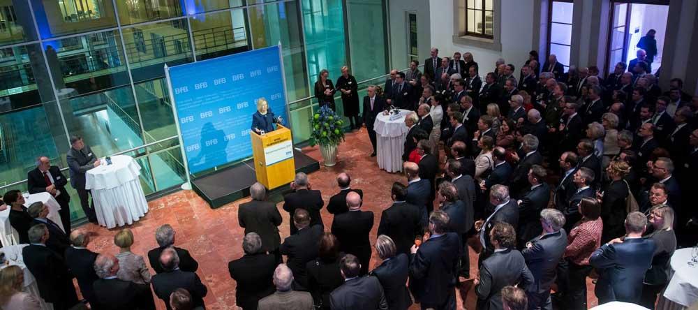 Neujahrsempfang des BFB in Berlin