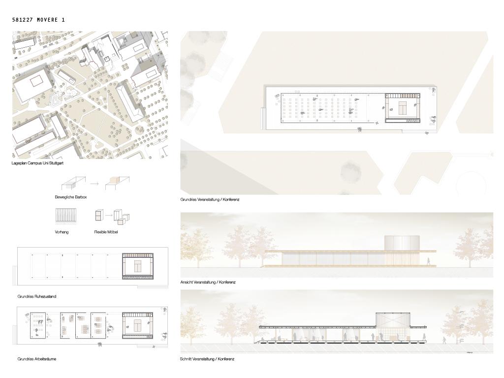 "Studentenwettbewerb - 3. Preis: "" Movere"" Johanna Lederer, Universität Stuttgart"